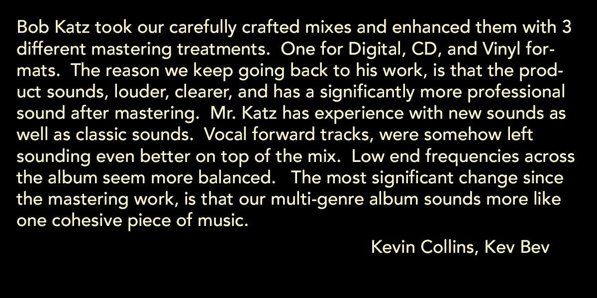 Kevin Collins, Kev Bev