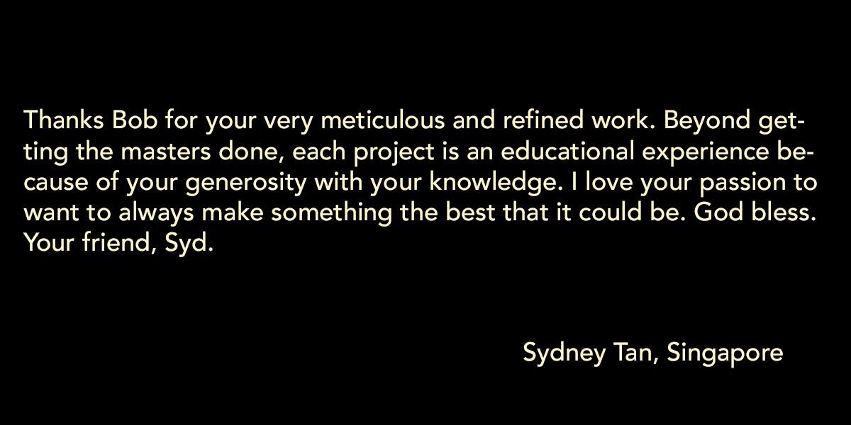 Sydney Tan